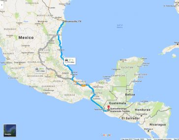 guatemala to mexico